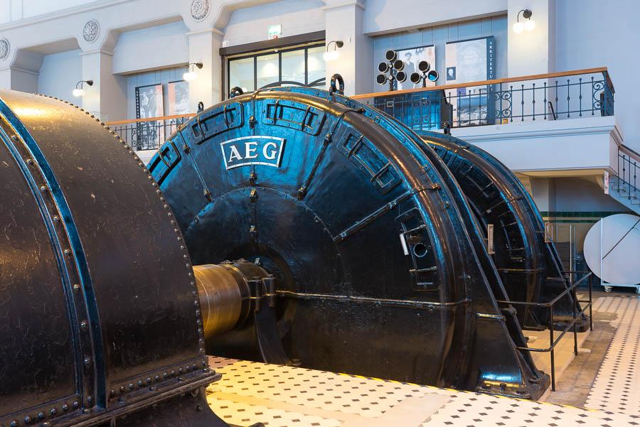 Kraftverks generator